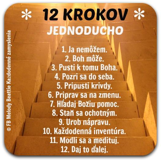 12 krokov jednoducho